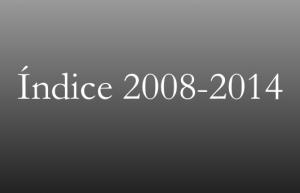 Estudios Evangélicos: índice 2008-2014