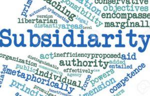 Subsidiariedad y neoliberalismo: ¿Alianza estratégica?